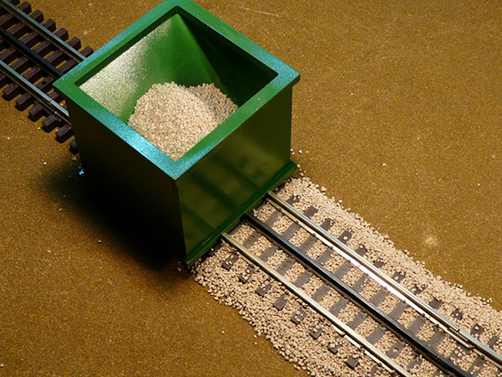 Bs O 02 O Scale 3 Rail Ballast Spreader Proses Hobby Eu
