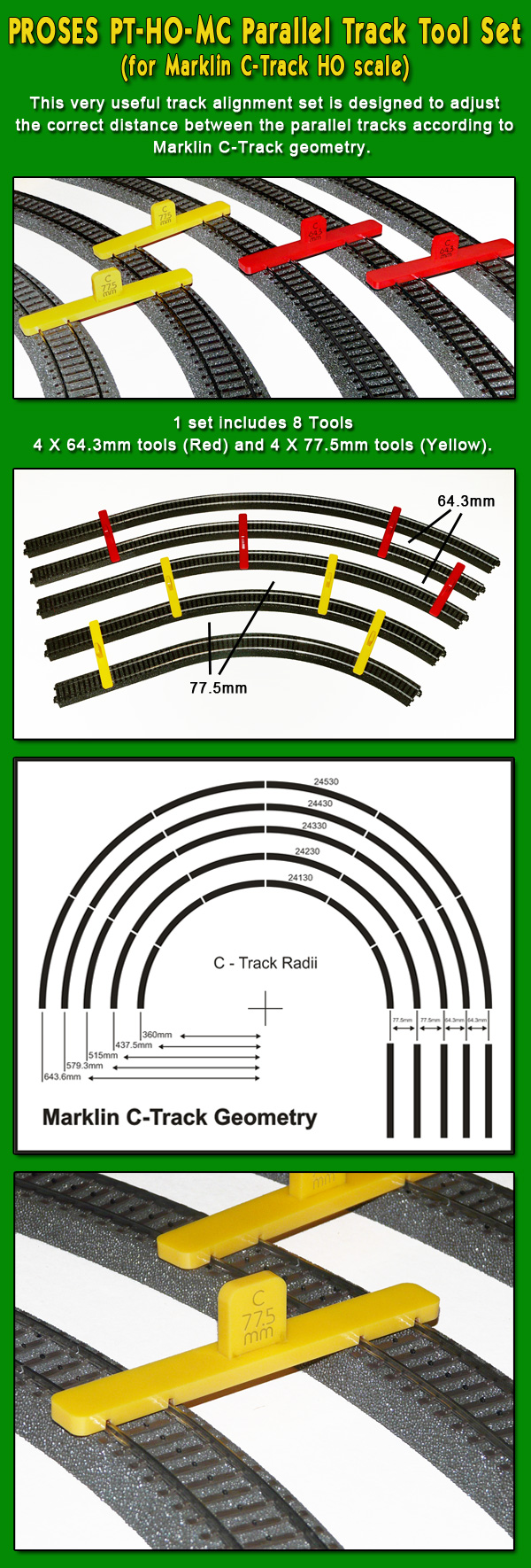 Ho scale track laying tools australia